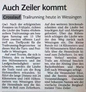 2014-10-25-Vorbericht Schwarzwälder Bote