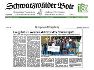 2015-10-20 Bericht Schwarzwälder Bote